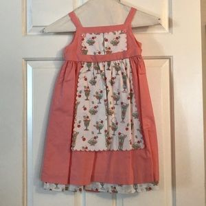 Girls Janie and Jack Ice cream dress